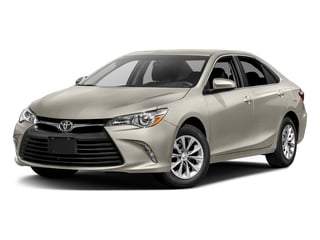 Creme Brulee Mica 2017 Toyota Camry Pictures Camry Sedan 4D LE I4 photos front view