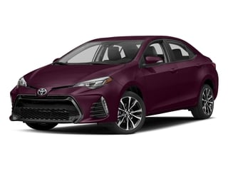 Black Cherry Pearl 2017 Toyota Corolla Pictures Corolla Sedan 4D Anniversary I4 photos front view