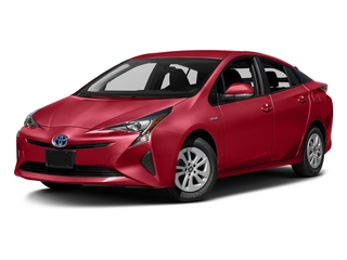 Hypersonic Red 2017 Toyota Prius Pictures Prius Liftback 5D Four I4 Hybrid photos front view