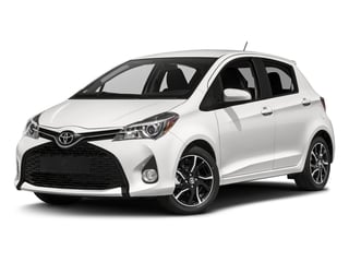 Super White 2017 Toyota Yaris Pictures Yaris Hatchback 5D SE I4 photos front view