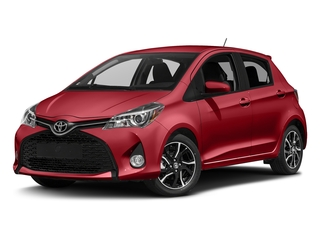 Barcelona Red Metallic 2017 Toyota Yaris Pictures Yaris Hatchback 5D SE I4 photos front view