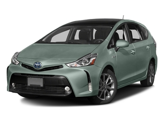 Sea Glass Pearl 2017 Toyota Prius v Pictures Prius v Liftback 5D v Five I4 Hybrid photos front view