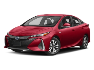 Hypersonic Red 2017 Toyota Prius Prime Pictures Prius Prime Liftback 5D Prime Plus I4 Hybrid photos front view