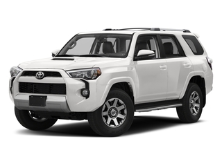 Super White 2017 Toyota 4Runner Pictures 4Runner Utility 4D TRD Off-Road 4WD V6 photos front view