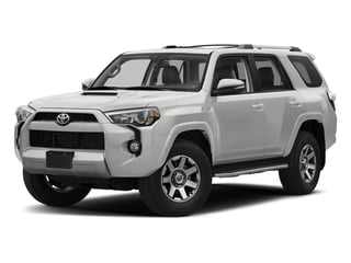 Classic Silver Metallic 2017 Toyota 4Runner Pictures 4Runner Utility 4D TRD Off-Road 4WD V6 photos front view