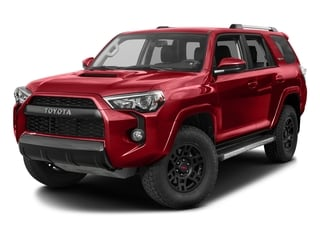 Barcelona Red Metallic 2017 Toyota 4Runner Pictures 4Runner Utility 4D TRD Pro 4WD V6 photos front view