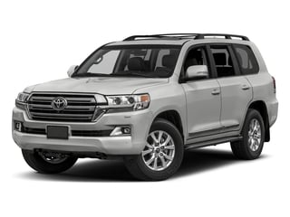 Classic Silver Metallic 2017 Toyota Land Cruiser Pictures Land Cruiser Utility 4D 4WD V8 photos front view