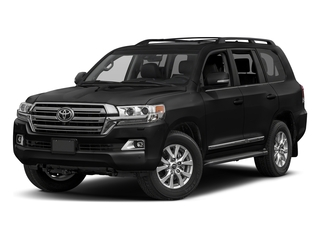 Midnight Black Metallic 2017 Toyota Land Cruiser Pictures Land Cruiser Utility 4D 4WD V8 photos front view