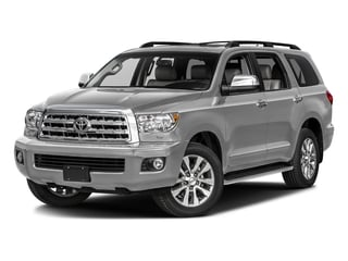 Silver Sky Metallic 2017 Toyota Sequoia Pictures Sequoia Utility 4D Limited 2WD V8 photos front view
