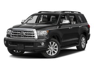 Black 2017 Toyota Sequoia Pictures Sequoia Utility 4D Limited 2WD V8 photos front view