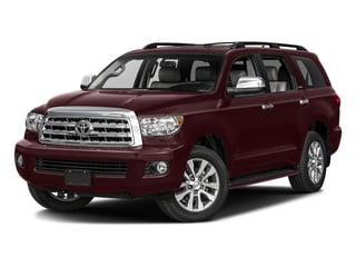 Sizzling Crimson Mica 2017 Toyota Sequoia Pictures Sequoia Utility 4D Limited 2WD V8 photos front view