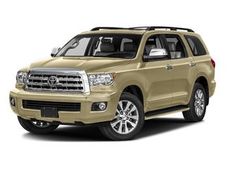Sandy Beach Metallic 2017 Toyota Sequoia Pictures Sequoia Utility 4D Limited 2WD V8 photos front view