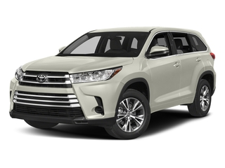 Blizzard Pearl 2017 Toyota Highlander Pictures Highlander Utility 4D LE 4WD V6 photos front view