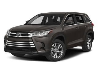 Predawn Gray Mica 2017 Toyota Highlander Pictures Highlander Utility 4D LE 4WD V6 photos front view