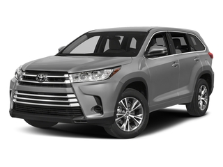 Celestial Silver Metallic 2017 Toyota Highlander Pictures Highlander Utility 4D LE 4WD V6 photos front view