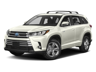 Blizzard Pearl 2017 Toyota Highlander Pictures Highlander Utility 4D LE 4WD V6 Hybrid photos front view
