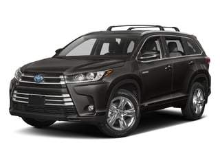 Predawn Gray Mica 2017 Toyota Highlander Pictures Highlander Utility 4D LE 4WD V6 Hybrid photos front view