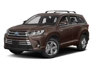 Toasted Walnut Pearl 2017 Toyota Highlander Pictures Highlander Utility 4D LE 4WD V6 Hybrid photos front view