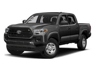 Magnetic Gray Metallic 2017 Toyota Tacoma Pictures Tacoma SR Crew Cab 4WD V6 photos front view