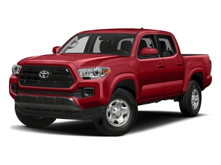 Barcelona Red Metallic 2017 Toyota Tacoma Pictures Tacoma SR Crew Cab 4WD V6 photos front view