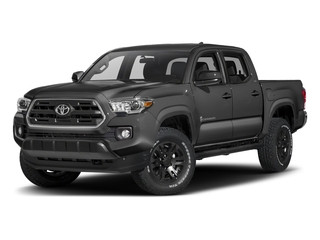 Magnetic Gray Metallic 2017 Toyota Tacoma Pictures Tacoma SR5 Crew Cab 2WD V6 photos front view