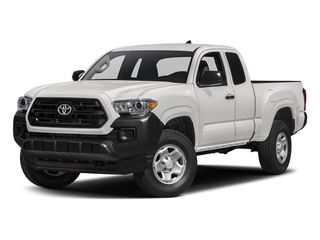 Super White 2017 Toyota Tacoma Pictures Tacoma SR Extended Cab 2WD V6 photos front view