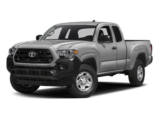 Silver Sky Metallic 2017 Toyota Tacoma Pictures Tacoma SR Extended Cab 2WD V6 photos front view