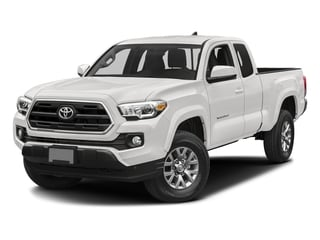 Super White 2017 Toyota Tacoma Pictures Tacoma SR5 Extended Cab 2WD V6 photos front view