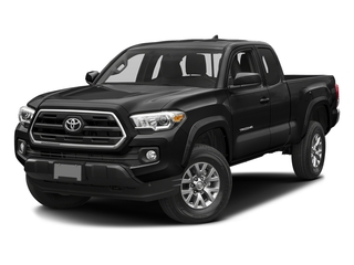 Black 2017 Toyota Tacoma Pictures Tacoma SR5 Extended Cab 2WD V6 photos front view
