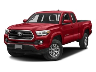 Barcelona Red Metallic 2017 Toyota Tacoma Pictures Tacoma SR5 Extended Cab 2WD V6 photos front view