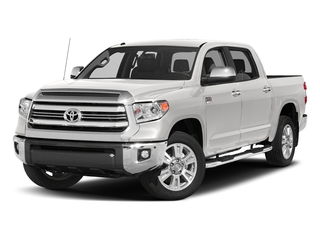 Super White 2017 Toyota Tundra 2WD Pictures Tundra 2WD 1794 Edition CrewMax 2WD photos front view