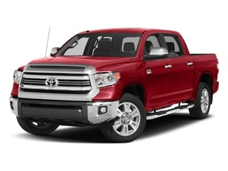 Barcelona Red Metallic 2017 Toyota Tundra 2WD Pictures Tundra 2WD 1794 Edition CrewMax 2WD photos front view