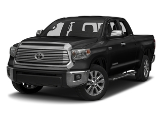 Midnight Black Metallic 2017 Toyota Tundra 2WD Pictures Tundra 2WD Limited Double Cab 2WD photos front view