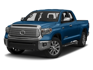 Blazing Blue Pearl 2017 Toyota Tundra 2WD Pictures Tundra 2WD Limited Double Cab 2WD photos front view