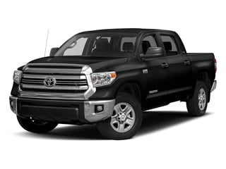 Black 2017 Toyota Tundra 4WD Pictures Tundra 4WD SR5 CrewMax 4WD photos front view