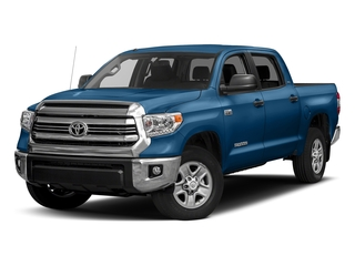 Blazing Blue Pearl 2017 Toyota Tundra 4WD Pictures Tundra 4WD SR5 CrewMax 4WD photos front view