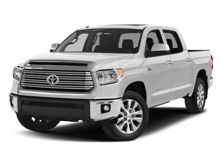 Super White 2017 Toyota Tundra 4WD Pictures Tundra 4WD Limited CrewMax 4WD photos front view