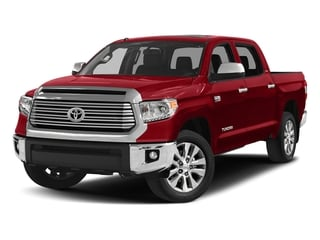 Barcelona Red Metallic 2017 Toyota Tundra 4WD Pictures Tundra 4WD Limited CrewMax 4WD photos front view