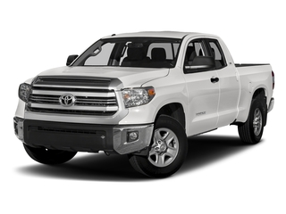 Super White 2017 Toyota Tundra 2WD Pictures Tundra 2WD SR5 Double Cab 2WD photos front view