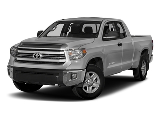 Silver Sky Metallic 2017 Toyota Tundra 2WD Pictures Tundra 2WD SR5 Double Cab 2WD photos front view