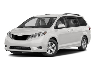 Super White 2017 Toyota Sienna Pictures Sienna Wagon 5D LE AWD V6 photos front view