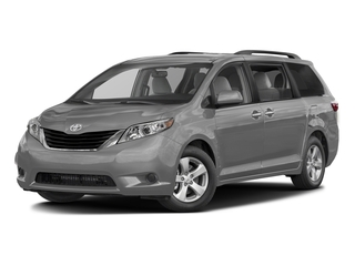 Silver Sky Metallic 2017 Toyota Sienna Pictures Sienna Wagon 5D LE AWD V6 photos front view