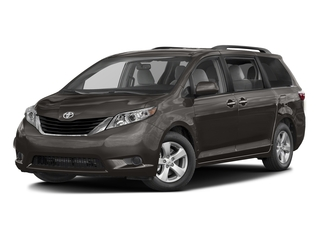 Predawn Gray Mica 2017 Toyota Sienna Pictures Sienna Wagon 5D LE AWD V6 photos front view