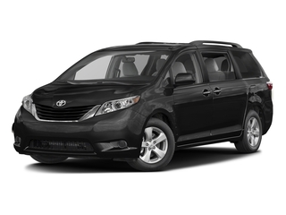 Midnight Black Metallic 2017 Toyota Sienna Pictures Sienna Wagon 5D LE AWD V6 photos front view