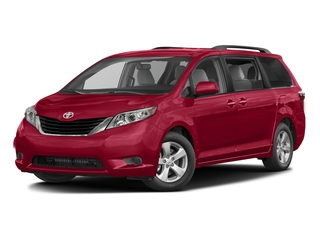 Salsa Red Pearl 2017 Toyota Sienna Pictures Sienna Wagon 5D LE AWD V6 photos front view