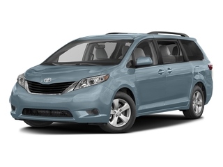 Sky Blue Pearl 2017 Toyota Sienna Pictures Sienna Wagon 5D LE AWD V6 photos front view