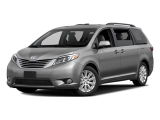 Silver Sky Metallic 2017 Toyota Sienna Pictures Sienna Wagon 5D XLE V6 photos front view