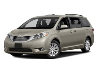 Creme Brulee Mica 2017 Toyota Sienna Pictures Sienna Wagon 5D XLE V6 photos front view