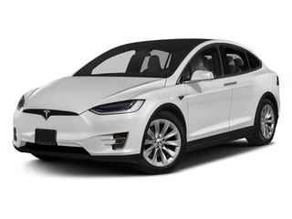 Pearl White Multi-Coat 2017 Tesla Motors Model X Pictures Model X Utility 4D 100 kWh AWD Electric photos front view