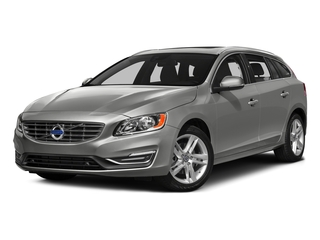 Bright Silver Metallic 2017 Volvo V60 Pictures V60 Wagon 4D T5 Platinum AWD Turbo photos front view